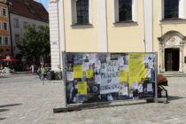 """Ausstellung zu """"60 Jahre Amnesty"""" vor dem Dom"""