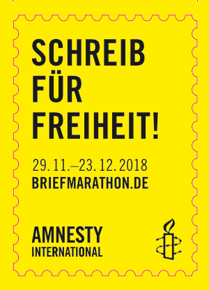 Briefmarathon 2018